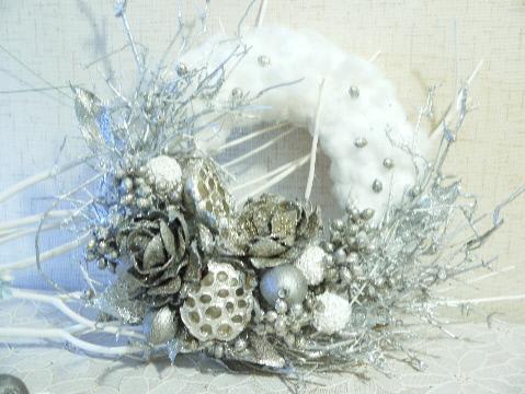 満天の星空 クリスマスリース_e0086864_2301693.jpg