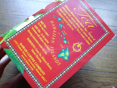HAWAIIAN ISLANDS TEAのHibiscus Honey Lemon Green Tea_c0152767_22103441.jpg