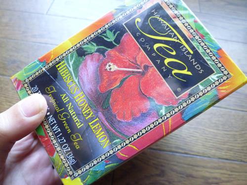 HAWAIIAN ISLANDS TEAのHibiscus Honey Lemon Green Tea_c0152767_229511.jpg
