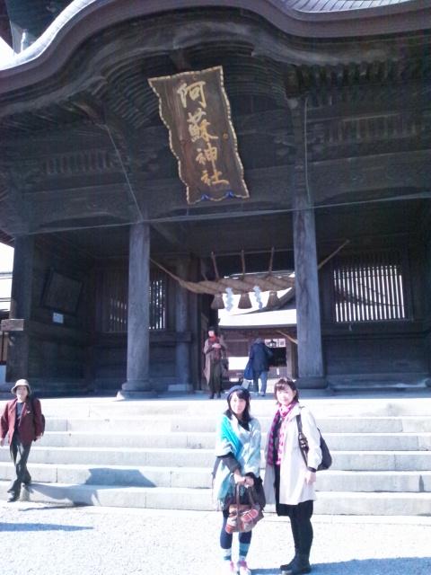 阿蘇神社とetuとtien tienと山ドライブ_c0246783_228248.jpg