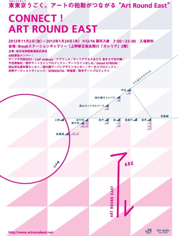 11月13日 |CONNECT! ART ROUND EAST_a0216706_1649479.jpg