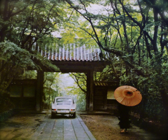 PORSCHE...rainy Kyoto in late 1960\'s_f0057849_9292569.jpg