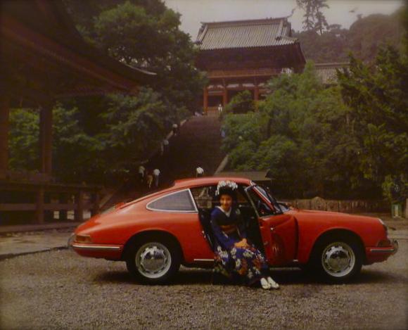 PORSCHE...rainy Kyoto in late 1960\'s_f0057849_9432752.jpg