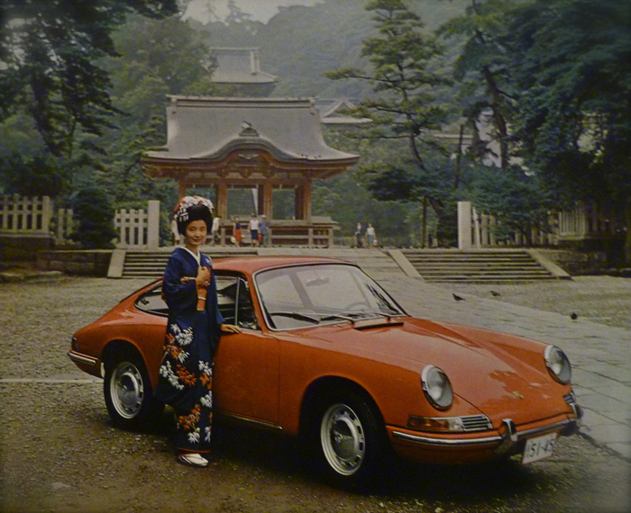 PORSCHE...rainy Kyoto in late 1960\'s_f0057849_9433068.jpg