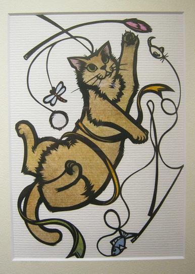 たまごの工房企画 「高円寺裏通り猫展」 その2_e0134502_17232617.jpg