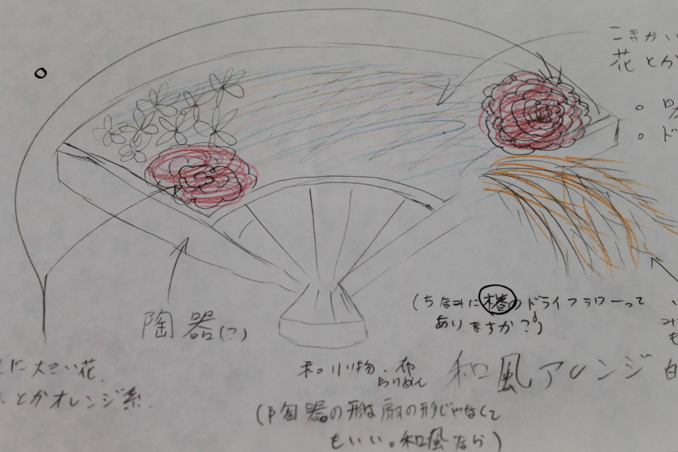 女子高生のみなさんとお花を_e0201009_16303032.jpg