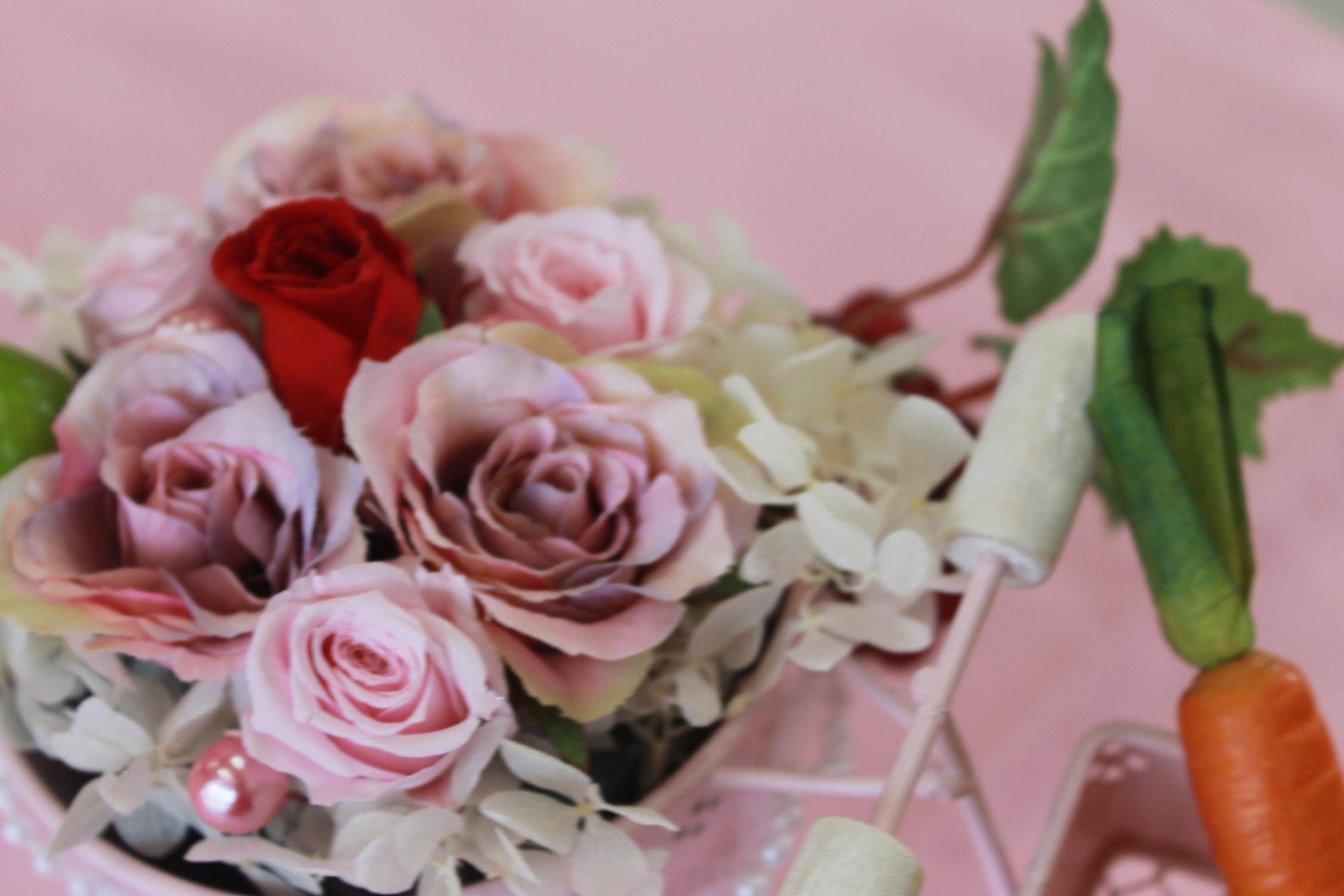 女子高生のみなさんとお花を_e0201009_16503321.jpg