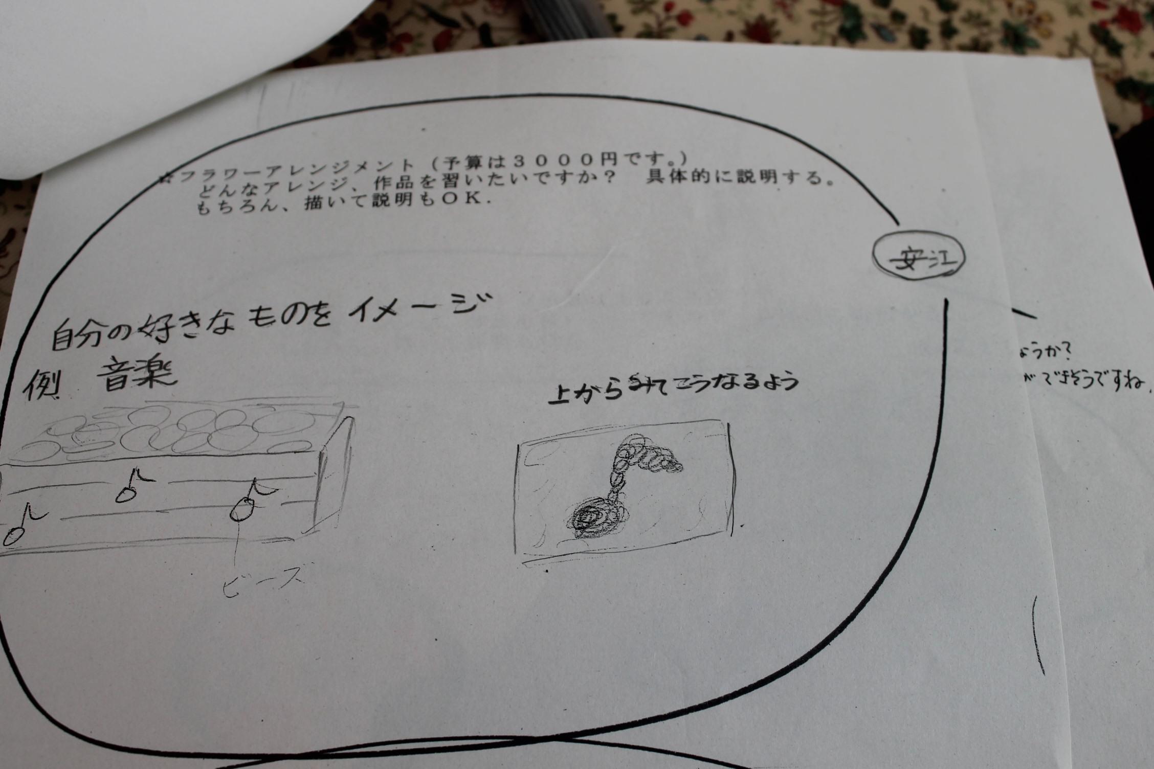 女子高生のみなさんとお花を_e0201009_1701042.jpg