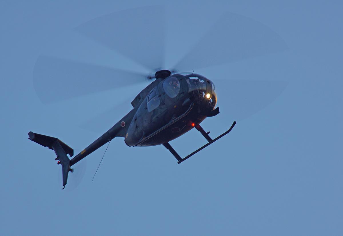 陸上自衛隊ヘリコプター(OH-6D)_b0044115_11285872.jpg