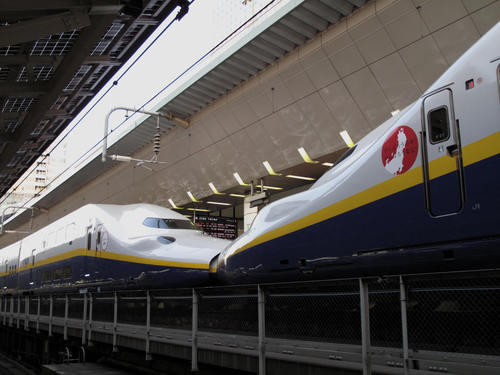 The  Tokyo  Stasion (JR 東京駅) 下車_d0150720_1447256.jpg