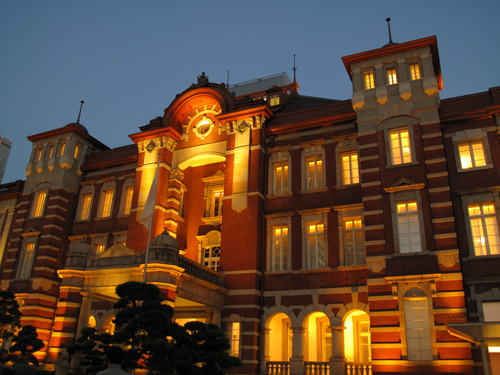 The  Tokyo  Stasion (JR 東京駅) 下車_d0150720_1547296.jpg