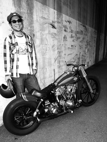平塚 貴司 & Harley-Davidson FXWG (2012 1014)_f0203027_10552076.jpg