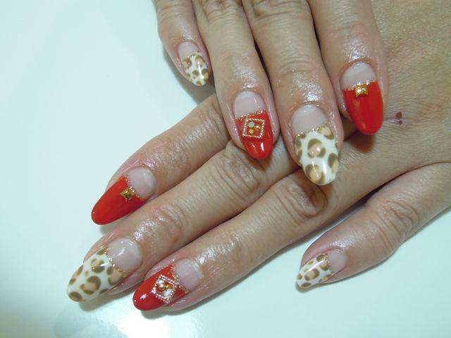 Leopard × Red_a0239065_18184263.jpg