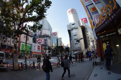 11月14日(水)今日の渋谷109前交差点_b0056983_10544523.jpg