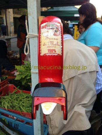 ナポリで食材を買う&魚介ソースのパッケリ_b0107003_21465159.jpg