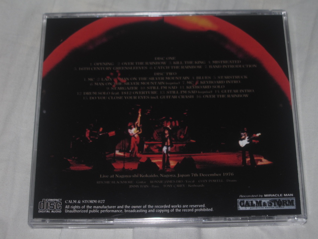 BLACKMORE\'S RAINBOW / RISING IN NAGOYA_b0042308_034212.jpg