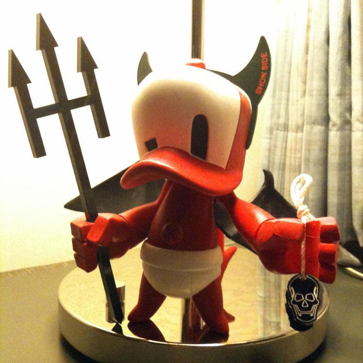 Cap Duck Devil Babyのプロト画像_a0077842_22261067.jpg