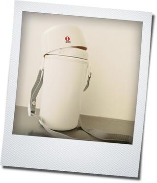 カステヘルミ10cmプレートと無印の水筒_e0214646_1338112.jpg