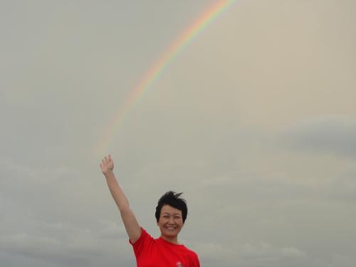 虹の戦士!?_c0220170_16573282.jpg