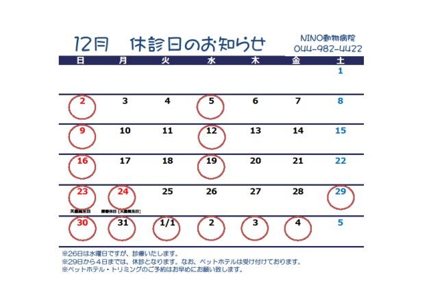 12月のお知らせ_e0288670_13243195.jpg