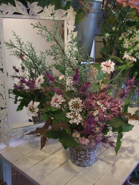 オークリーフ花の教室(北条さんの作品)_f0049672_161658.jpg