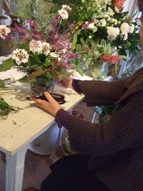 オークリーフ花の教室(北条さんの作品)_f0049672_16215816.jpg