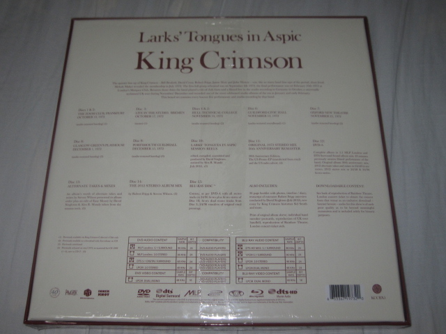 KING CRIMSON / LARK\'S TONGUES IN ASPIC THE COMPLETE RECORDINGS_b0042308_0285665.jpg