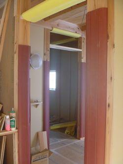 木建の枠取付け完了。_b0131012_2101099.jpg