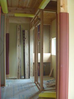 木建の枠取付け完了。_b0131012_2102042.jpg