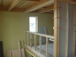 木建の枠取付け完了。_b0131012_211181.jpg