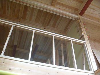 木建の枠取付け完了。_b0131012_2112267.jpg