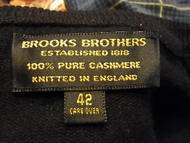 11/17(土)入荷!BROOKS BROTHERS イギリス製 カシミアセーター_c0144020_1421670.jpg