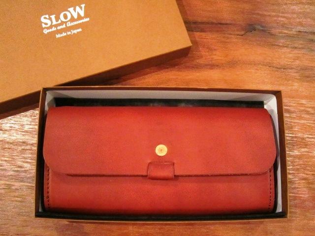 "SLOW \""toscana\"" long wallet ご紹介_f0191324_9361542.jpg"
