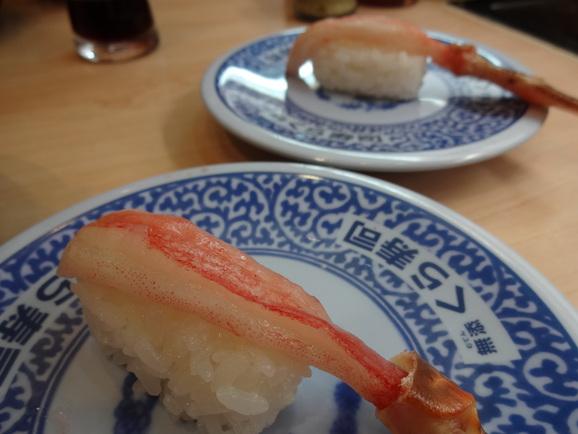 そとでお食事withオット@またまたくら寿司♪_d0219834_21443955.jpg