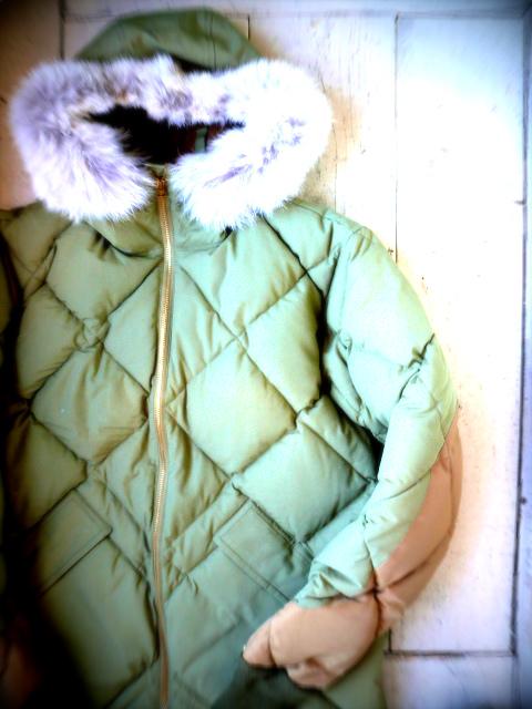 『ALASKAN DOWN COAT』_a0117545_17252895.jpg