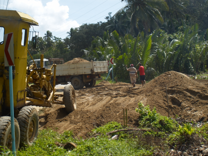 Our Next lot Sold for Php500/㎡ Started Construction!_e0202828_1422546.jpg