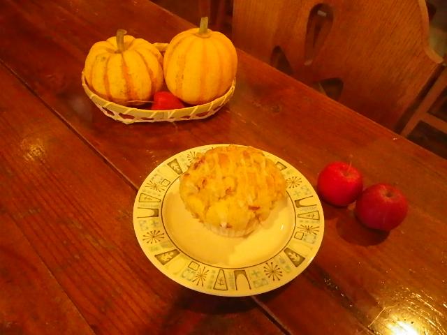林檎に柿~♪_b0207642_1695239.jpg