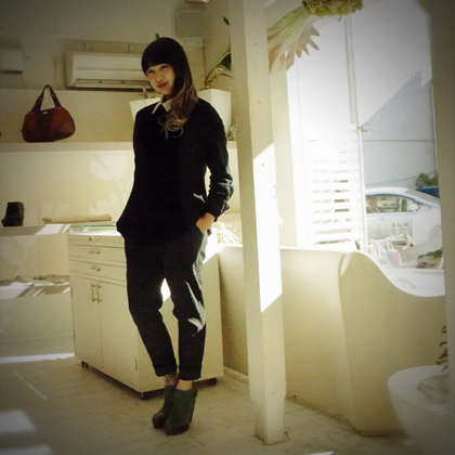 タキシードチュニック♥ by iri_f0053343_21154677.jpg