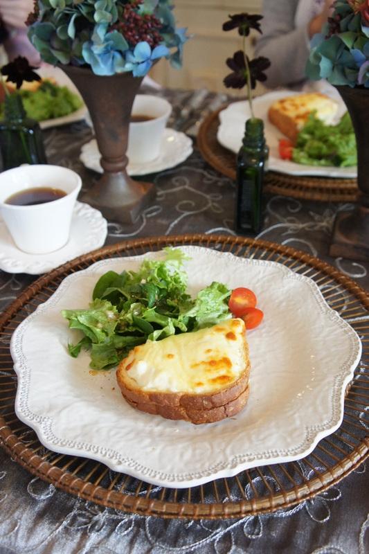 エクレア チーズのサブレ クロックムッシュー_d0210450_15581958.jpg