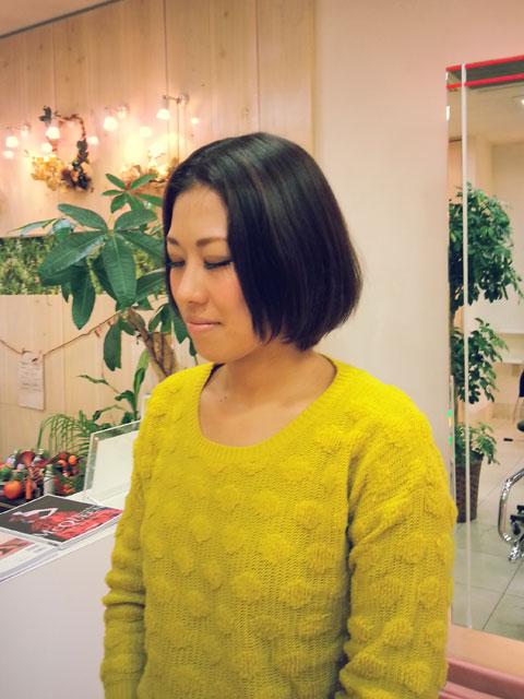 【八尾店スタイリスト相良】☆ダークベージュのミルフィーユカラー☆_c0080367_1732973.jpg