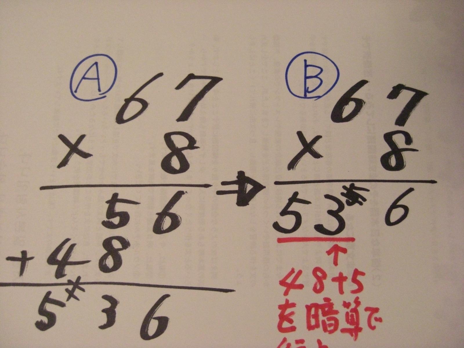 例会 : 石原清貴の算数教育 ... : 足し算 暗算 : すべての講義