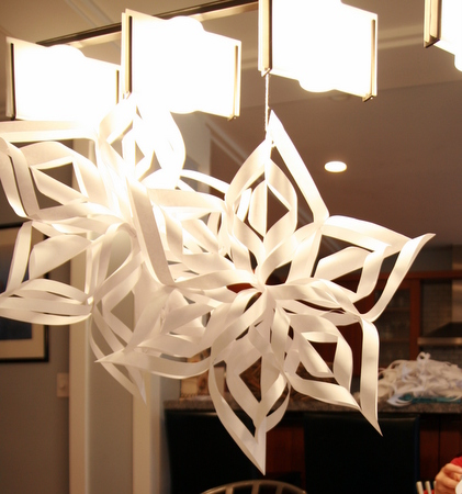 ハート 折り紙 折り紙で雪の結晶 : poletots.exblog.jp