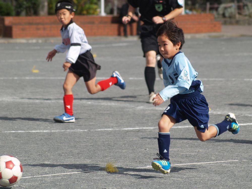 1年生 第64回あすなろ杯少年サッカー大会決勝トーナメント_a0109316_2112794.jpg