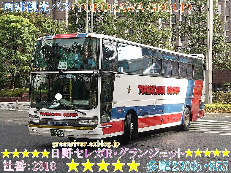 西郡観光バス(YOKOKAWA GROUP) 2318_e0004218_21105063.jpg