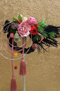 12月のシュシュコースは「モダンお正月飾り」を作成します!_c0165636_1471546.jpg