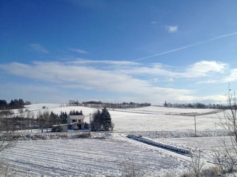 初雪です。_f0096216_14361372.jpg