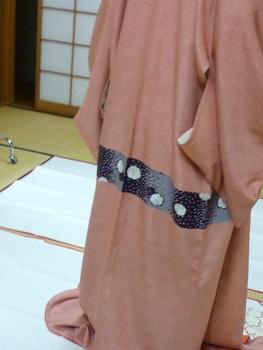 身丈の短いきものの、足し布は素敵だった!_f0205317_20275562.jpg