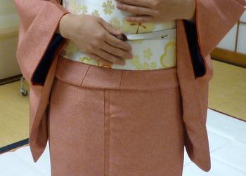 身丈の短いきものの、足し布は素敵だった!_f0205317_20433425.jpg