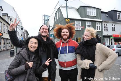アイスランド・エアウエイブス2012(1):初日前半 ミュージシャンに囲まれ濃厚にスタート!_c0003620_14445072.jpg