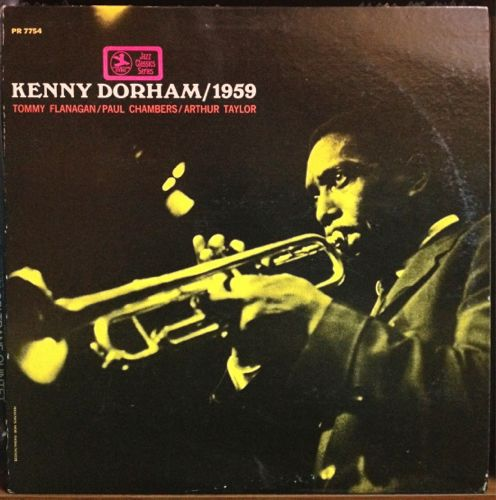 KENNY DORHAM / 1959  (Prestige PR 7754)_d0102724_23375095.jpg